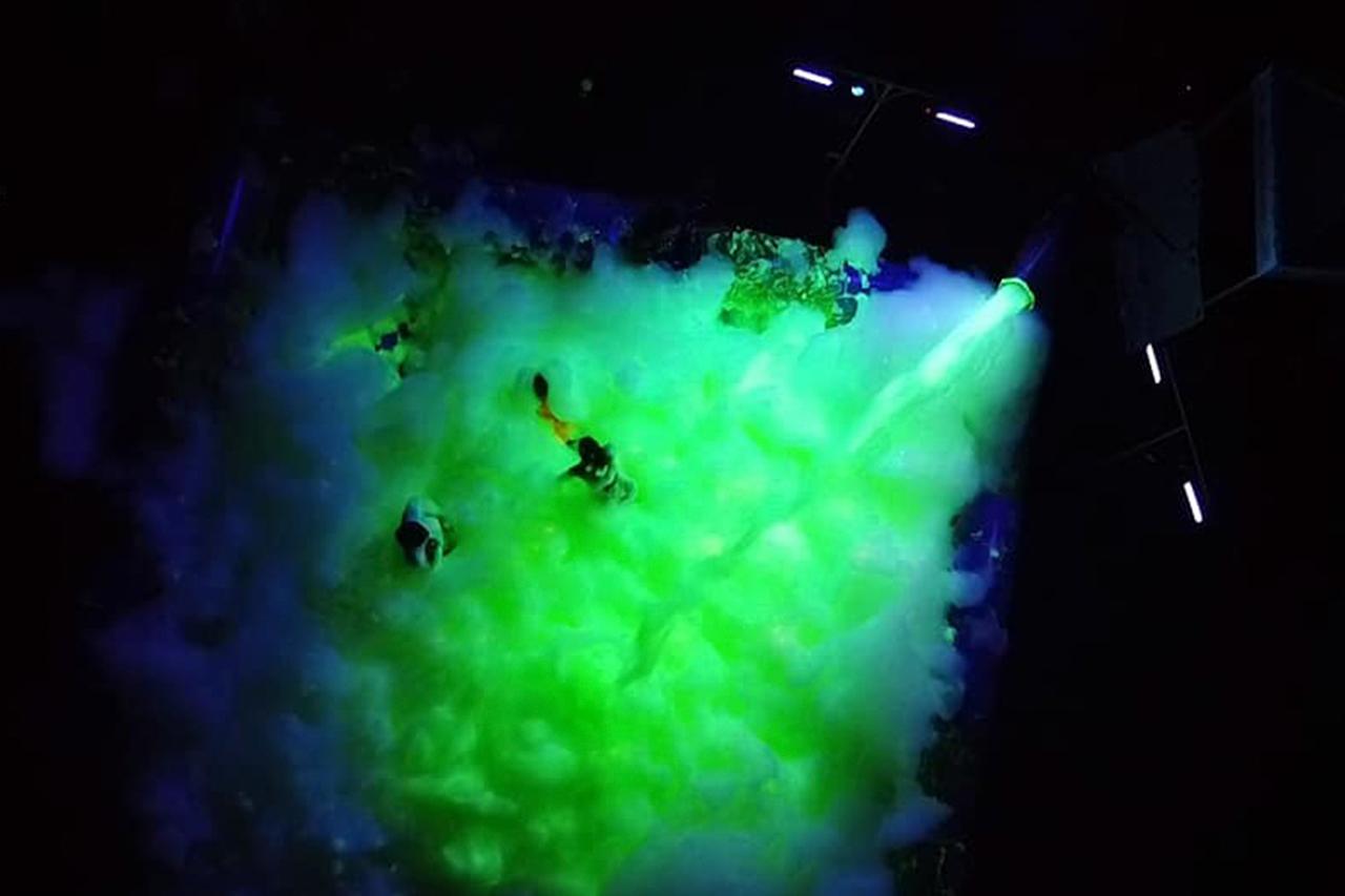 Glow Foam the Coast